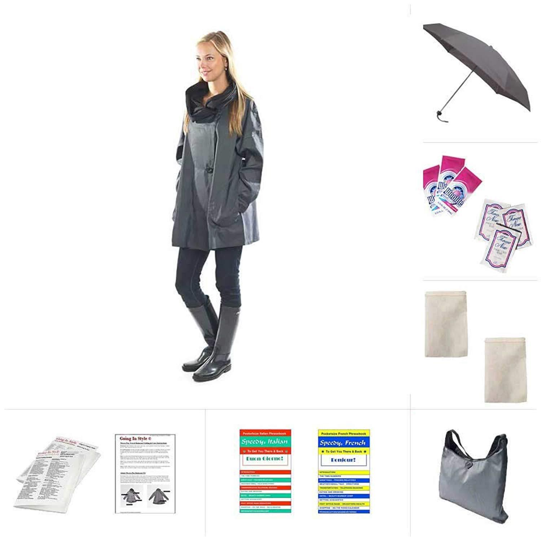 42ebe0b19b2 Get Quotations · Mycra Pac Mini Donatella Raincoat