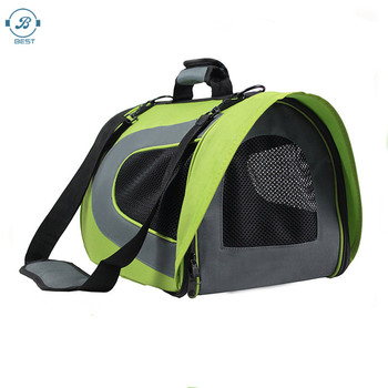Hot dog carrier bag Large expandable space pet bag outdoor travel dog carrier bag