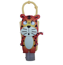 Disney FAMA certificated gifts factory Custom bagtag cartoon hand sanitizer silicone holder