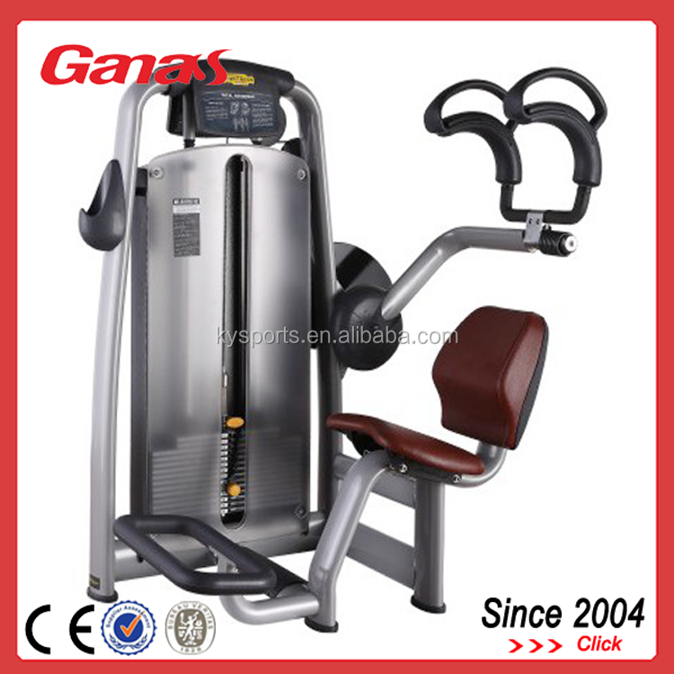 Ganas Abdominal Crunch Machines G-609 Seated Abdominal Machine ...