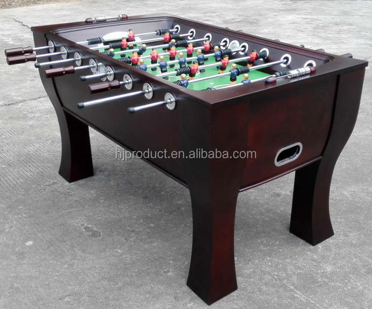 solid wood lighted foosball table for sale - Foosball Table For Sale