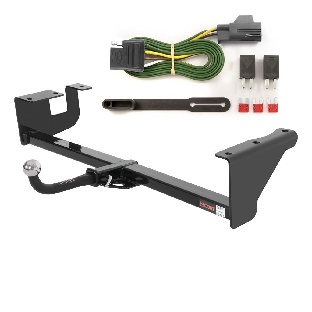 Curt Class 3 Trailer Hitch Bundle With Wiring For 2005 2006 Jeep Grand Cherokee