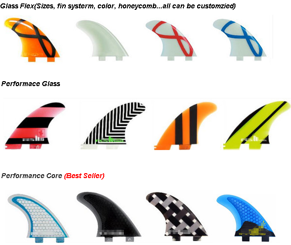 G5/g7 Surfboard Fins With Fcs Screw And Key Surfing Fins
