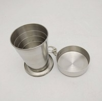 2 ounce Stainless Steel Collapsible Cup