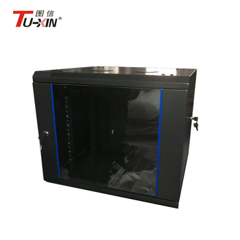 19 Inch 9u Double Section Wall Mount Network Server Cabinet - Buy Network  Server Cabinet,19 Inch Rack,Small Wall Mounted Cabinet Product on