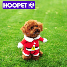 Merry Christmas! pet cosplay costume Santa Claus dog clothes