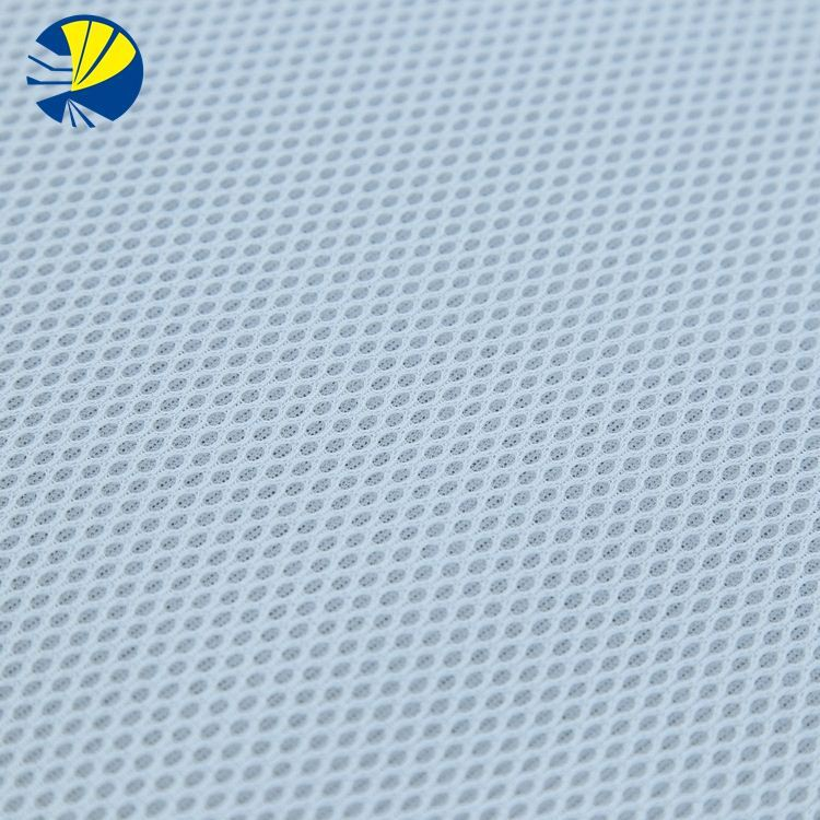 100 Polyester Tricot Customized 3D Air Bird Eyes Mesh Fabric For Sports Shoes