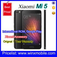 2016 NEW Mi5 Pro Smart phone Snapdragon 820 4GB RAM 128GB ROM Pro 2 SIM card 4G Black