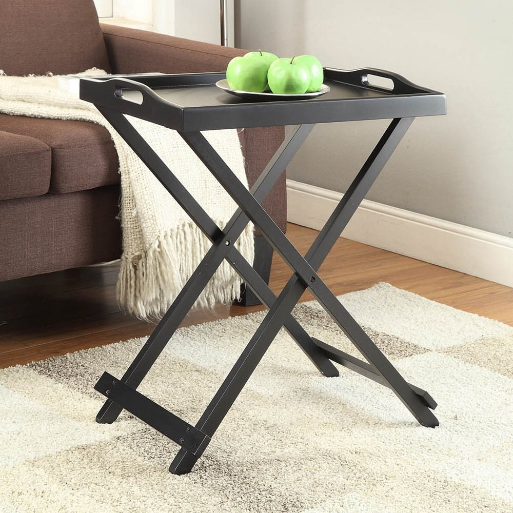 Get Quotations Folding Tray Table Furniture Portable Snack Tables For Living Room Sofa Home Tv Top