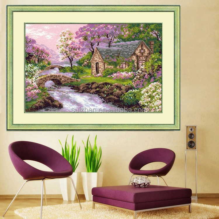 Home Decor Factory Wall Art Resin Painting Cross Stitch Diy Kit