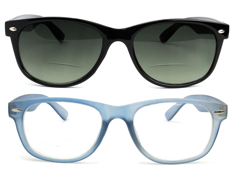 51d481ec9afd Get Quotations · Bifocal Reading Glasses and Bifocal Sunglasses for Men and  Women
