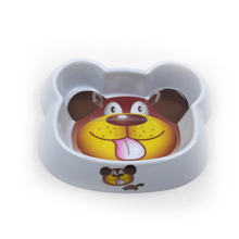 Cat and Dog Stainless steel food feeder double pet bowl with transparent stand