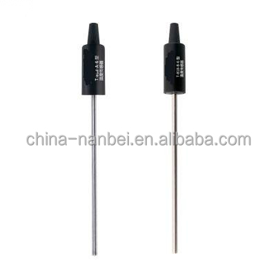 Temperature sensor for water analysis instruments