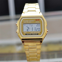 Top selling products 2017 KNS--006 classic digital watches ladies gold watch