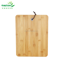 100% natural bamboo cutting board with weight