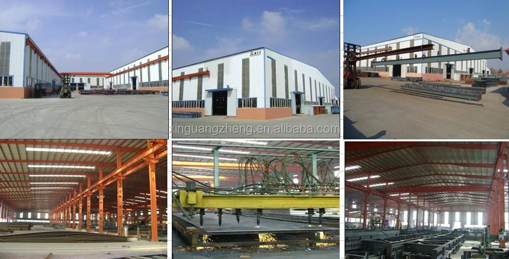easy assembly light portal steel arch warehouse prefabricated buildings from china