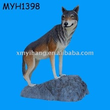 life size resin dog figurine
