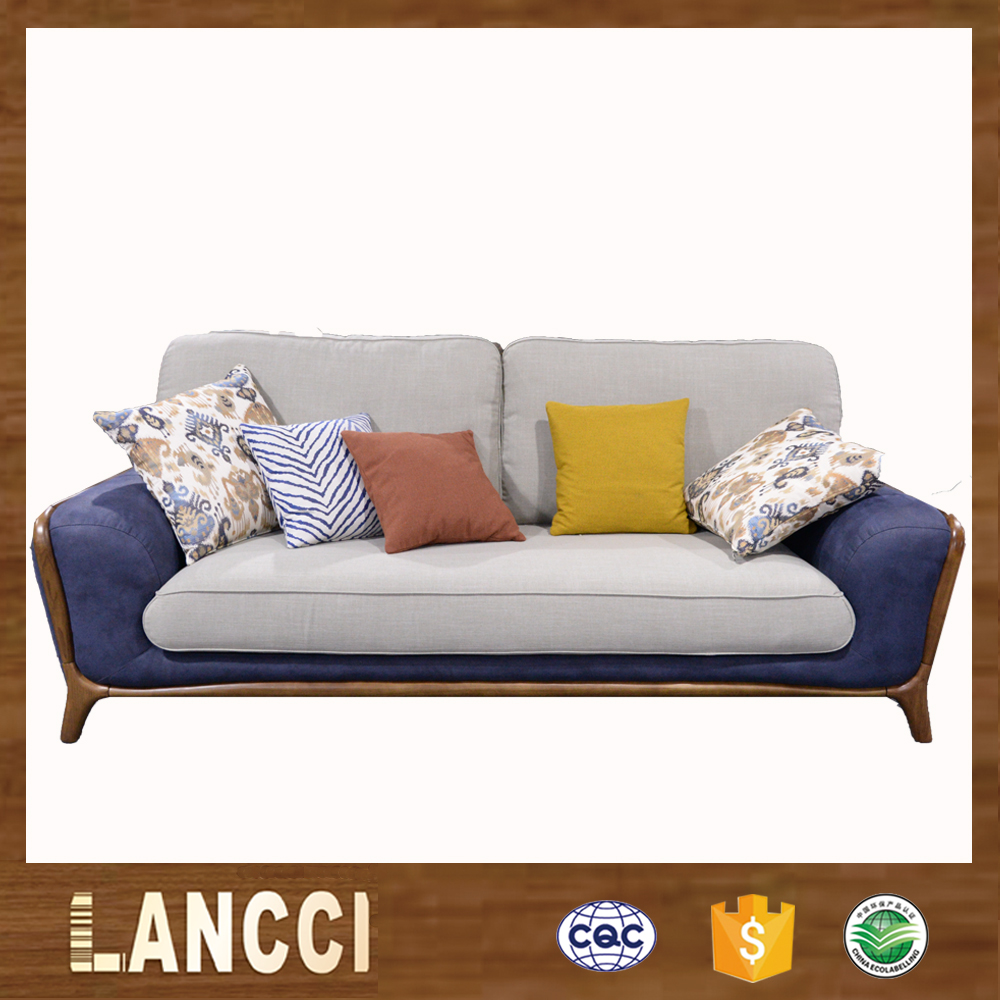 Best price fashion modern wooden sectional sofa