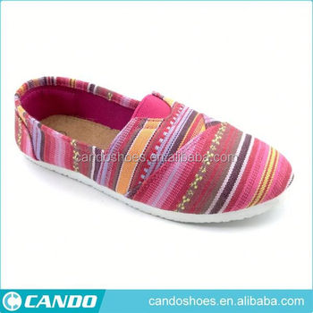 free sample printed canvas shoes shoes for old people