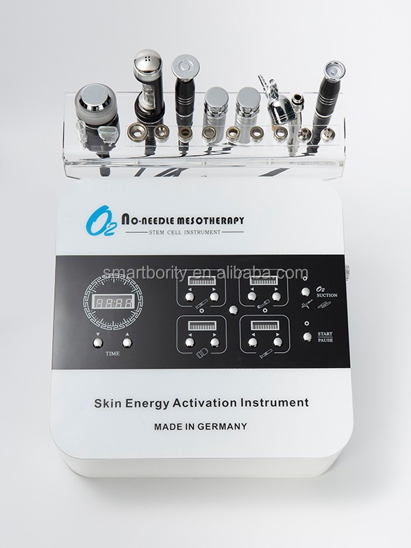 dropshipping skin tightening machine Effects whitening injection Skin Care facial galvanic beauty equipment