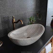 hot sales Hand Carved Public Marble Sink