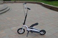 Entertainment two wheel stepper scooter for adult