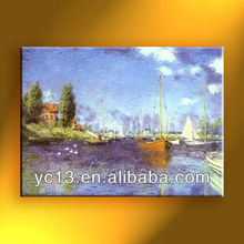 oil painting reproduction artwork famous artist Monet masterpieces copy
