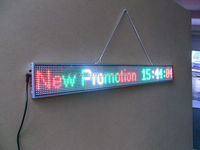 P5 super slim LED display board option size moving message