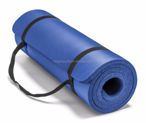Tiger Sports NBR yoga mat with strap or net bag for gym yoga training