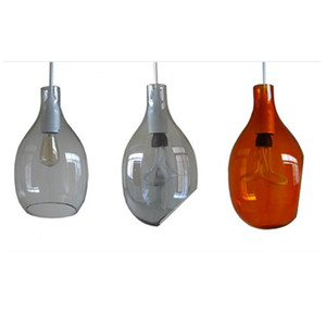 Modern Hanging Pendant Lamp Decorative Stained Glass Ceiling Light