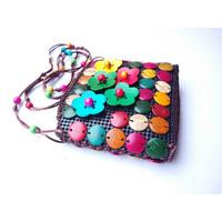 2017 Handmade wallet national style beach shell bag