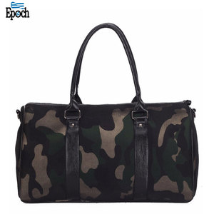 China Factory Fashionable Brands Large Leather Duffle Bag for Men and Women