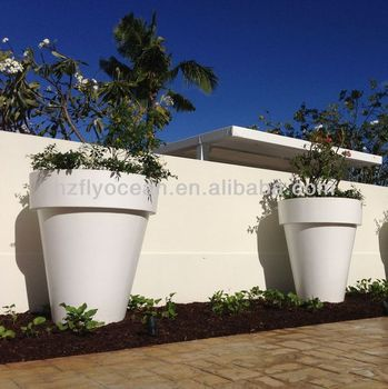 Fo 306 large white flower pots and vases fibre glass buy flower fo 306 large white flower pots and vases fibre glass mightylinksfo