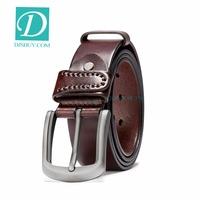 Hotsale Cowhide Genuine Leather Belts Men Luxury Strap Male Vintage Fancy Jeans Designer Belt