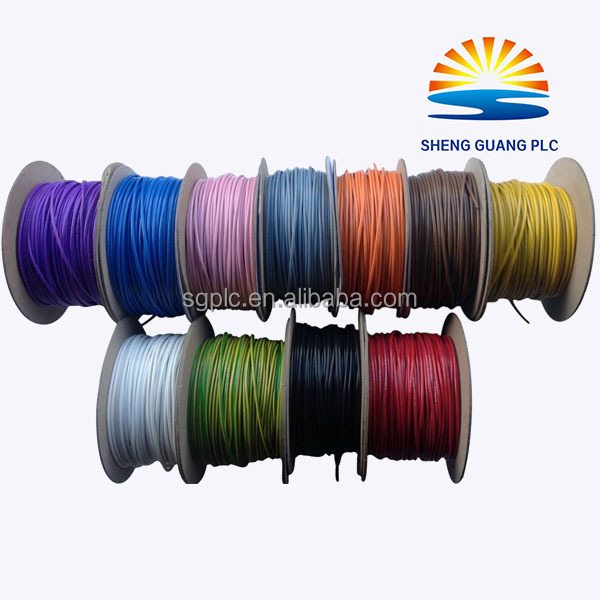 2.5mm2 single core PVC coated solid copper Material electric cable wires for Vietnam
