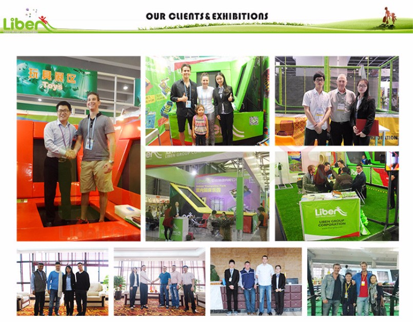 equipment commercial indoor trampoline park