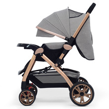 china manufacturing suspension wheel baby stroller/lightweight steel frame baby doll pram stroller/baby stroller 3-in-1