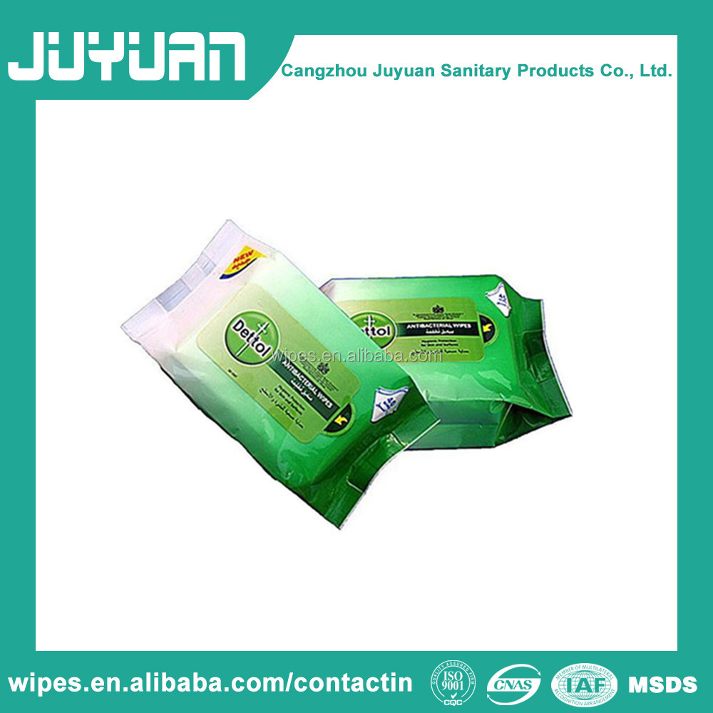 Antibacterial Surface Cleaning Wet Tissue Disinfectant Wipes OEM Welcomed