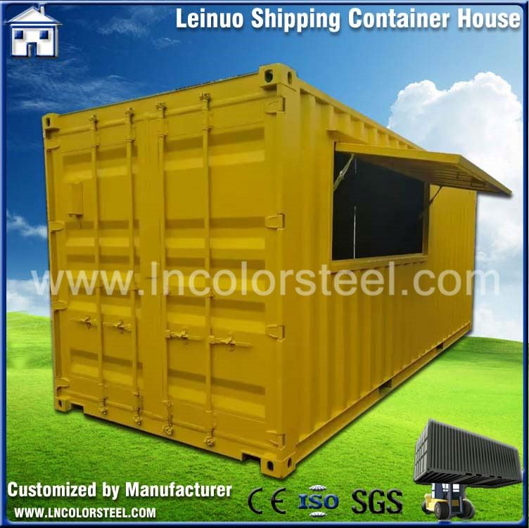 Pre Manufactured portable Luxury office container house
