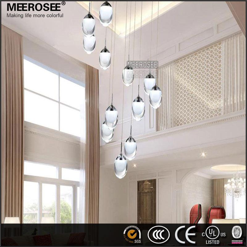 Home Interior Lights Home Crystal Led Oval Light Marine Pendant