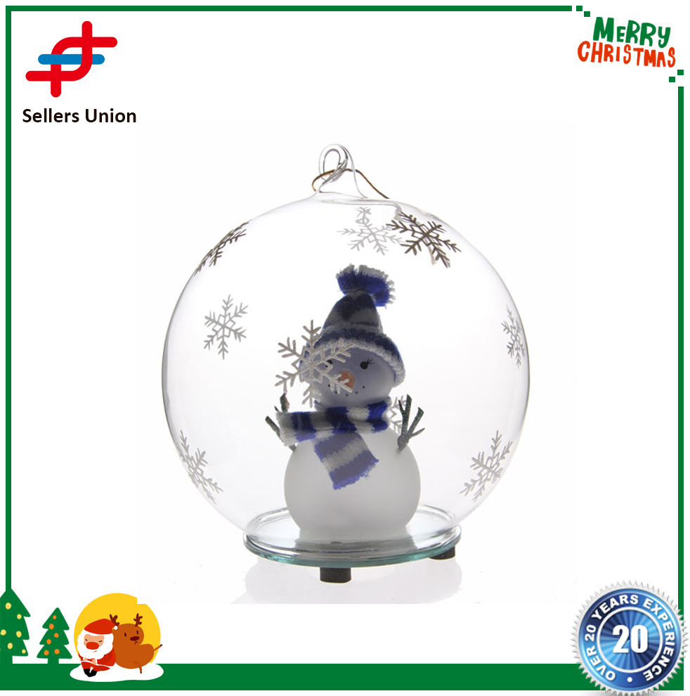 Best Selling High quality wholesale clear glass christmas ball ornaments