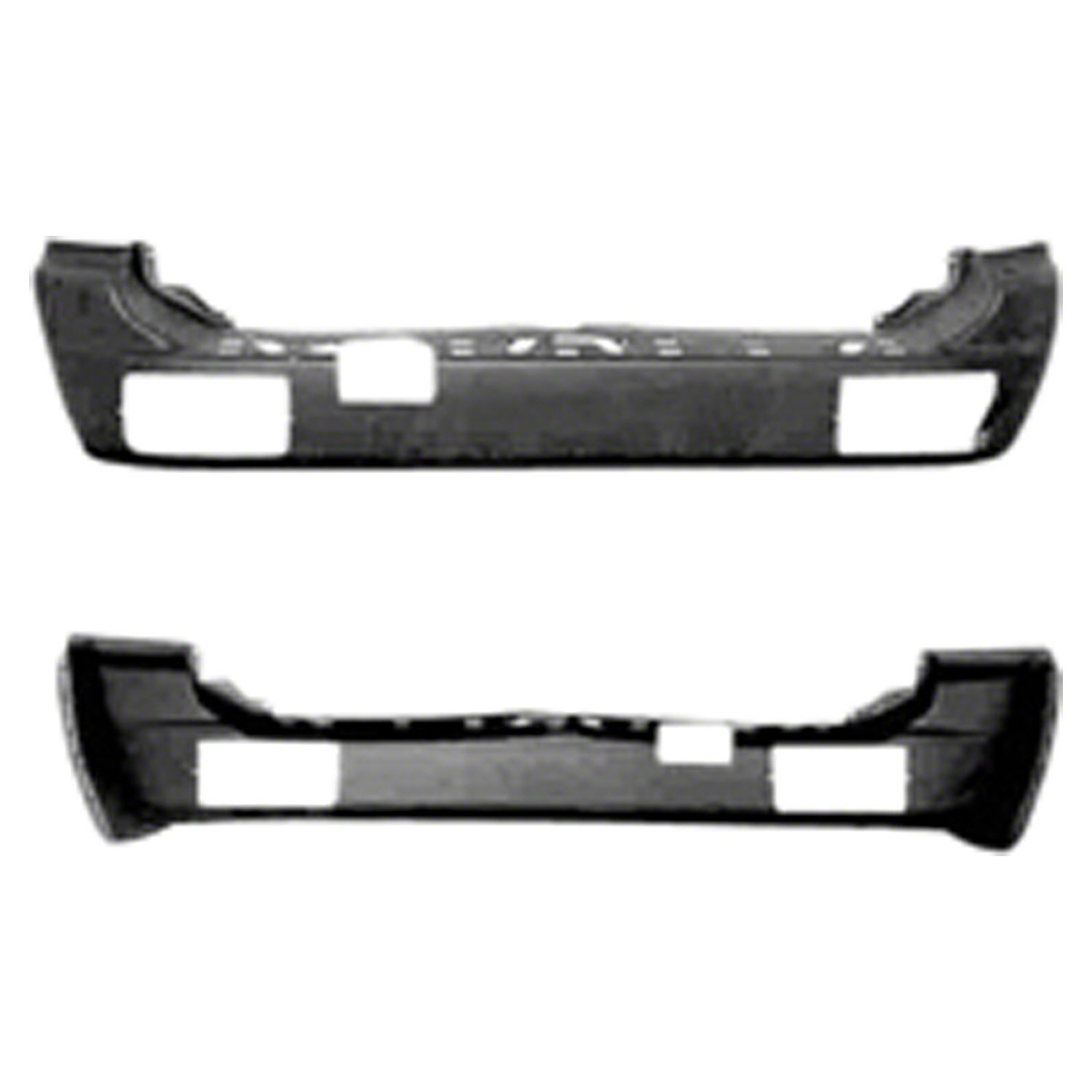 Get Quotations · Crash Parts Plus Crash Parts Plus MI1100252 Rear Bumper  Cover for 97-99 Mitsubishi Montero