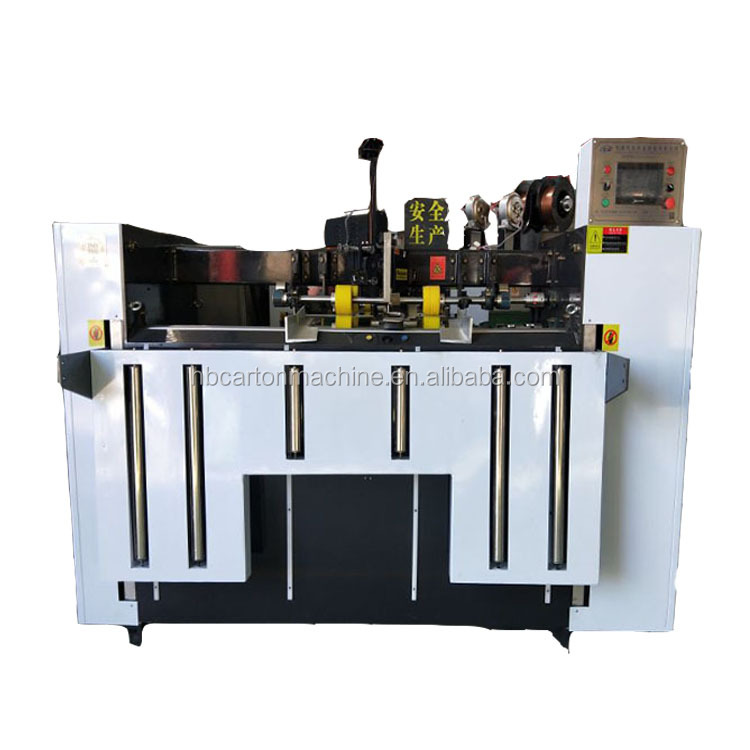 Semi Automatic Single Piece Stitcher Machine/carton Box Stitching  Price/corrugated Cardboard Box Making - Buy High Quality Corrugated  Automatic