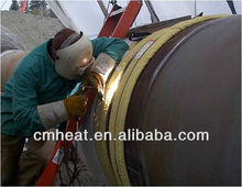 Induction PWHT equipment for pipe welding