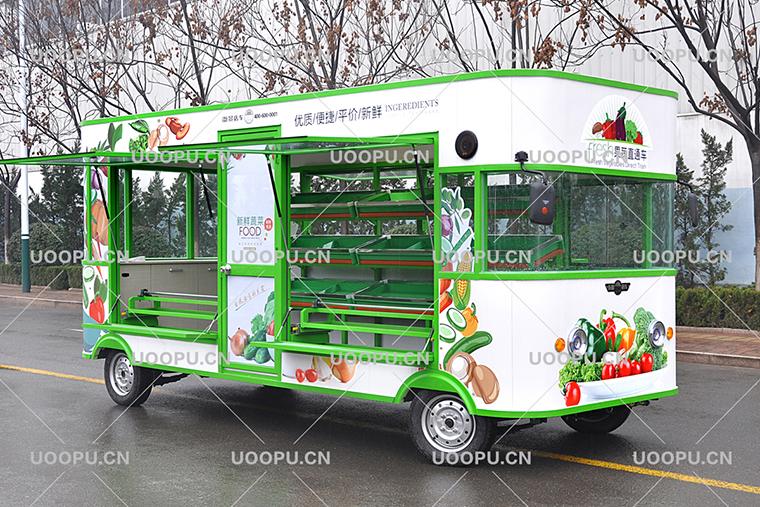 Mobile Fruit Cart Street Vegetable And Fruits Vending