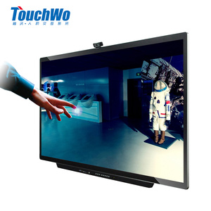 65 to 89 inches inches led HD 4k touch screen monitor china lcd tv price interactive flat panel all in one pc