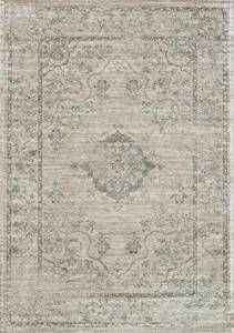 Loloi Rugs NYLANY-15BEBB2479 Nyla Collection Transitional Area Rug, 2-Feet 4-Inch by 7-Feet 9-Inch, Beige/Blue