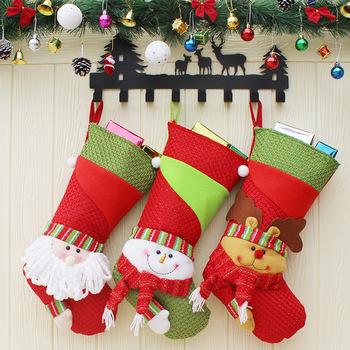 big christmas stocking children gifts bags wholesale bulk santa christmas stockings - Big Christmas Stockings