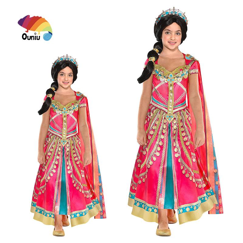 Egiziano Ragazza Regina Bambini Costume Cleopatra 4-12 Anni