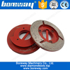 Hard soft bond cup wheel for stone grinding